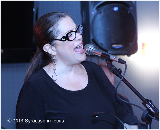 "Laurie Dapice was the most recent guest to grace the Sitrus Lounge Sound Stage. She sang standards and cuts from her new CD ""Parting the Veil."" She has won awards from ASCAP and Billboard Magazine. Dapice is a native of Utica, New York."