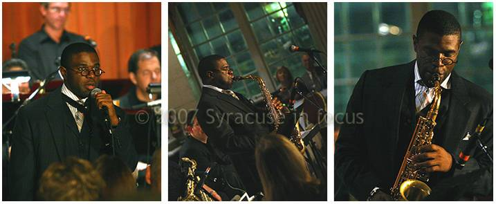 Antonio Hart played the Hotel Syracuse's Persian Terrace in 2007.