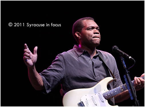 Guitarist Robert Cray has been added to the New York State Fair's Chevy Court Line up. He is pictured here at the 2011 Syracuse Jazz Fest.