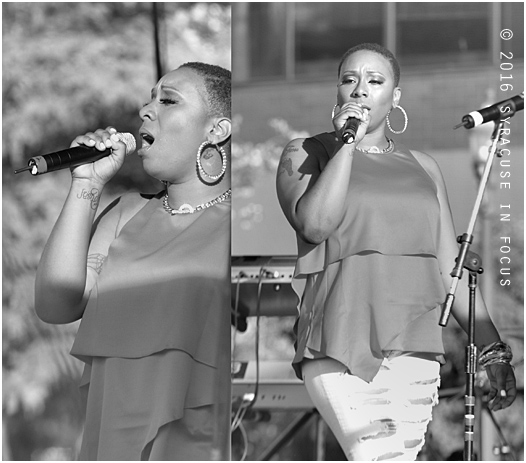 Fe Fe Recording artist Alani Skye performed at Juneteenth on Saturday.