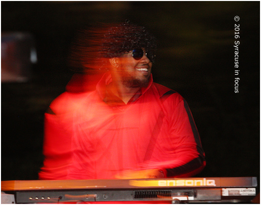 D. Bowens on keys