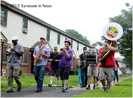 Second Line Syracuse (file photo)
