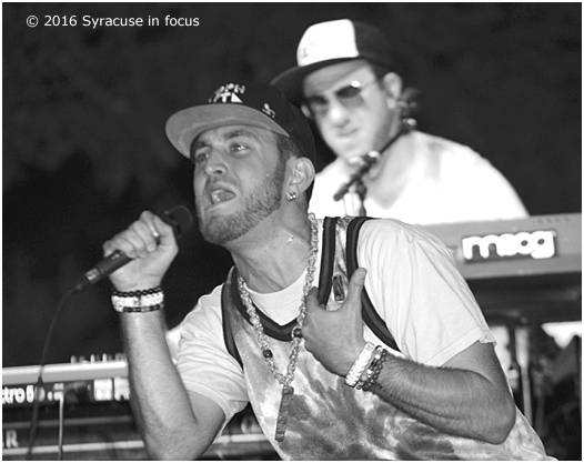 Jack Brown and Adam Gold: Sophistafunk at The Taste of Syracuse.