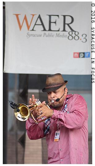 Scott Bugs Allen blasting the brass