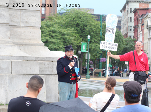 Ave Bauder provides some context and history about the Soldiers and Sailors Monument in Clinton Square.