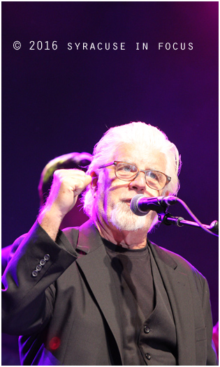 Michael McDonald talk just enough politics before getting into his litany of hits last night.
