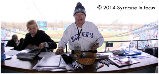 Jimmy Durkin at Opening Day in 2014.