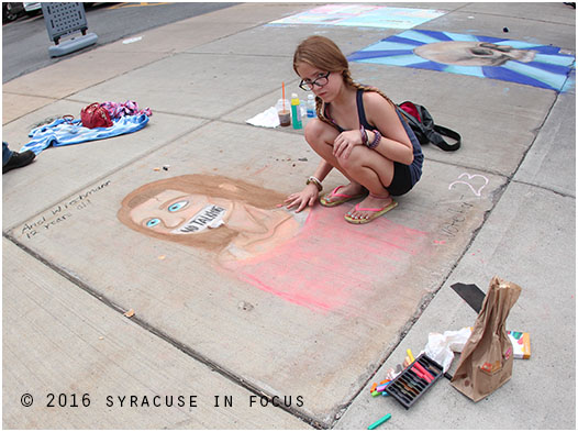 Sidewalk Art Competition