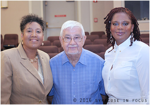 Dr. Daria Willis met members of Mercy Works, Inc. today, including executives Angela Douglas and Clarence Jordan.