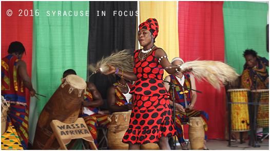 Wassa PanAfrika Dance at the Pan African Village