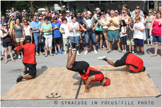 We wonder if there are still B-Boys (pictured here at the New York State Fair in 2011).