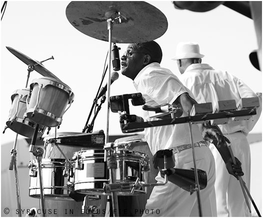 Blacklites Eddie Brown at Jazz in the City (circa 2011).