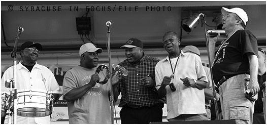Getting the band back together: Mustang Sally @ Jazz in the City (circa 2011)