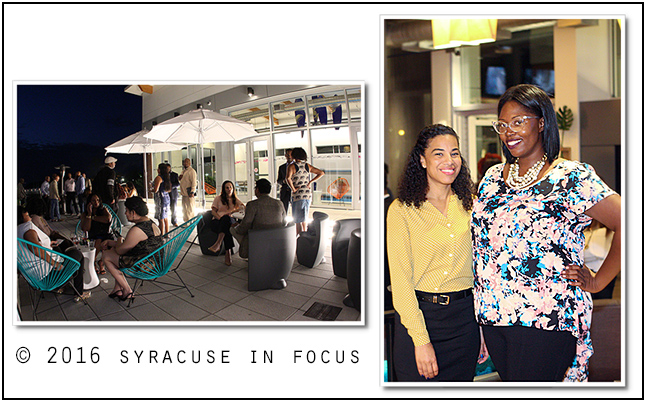 Mix & Mingle Event at Aloft Hotel (Syracuse Inner Harbor)