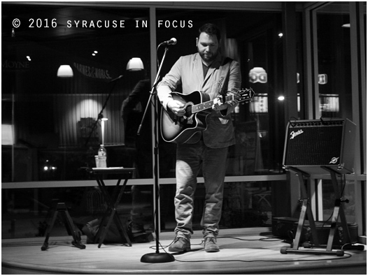 Singer/songwriter Jason Bean played the Party in the Plaza series at LeMoyne Plaza last week. To hear his talents, check out the clip below.