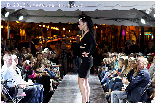 The 6th Annual Syracuse Style Runway Show on Walton Street was held last night as a part of Syracuse Fashion Week.