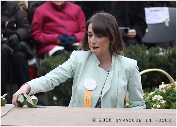 Rose Laying Ceremony, Syracuse Unviersity