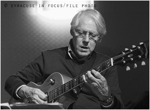 Veteran guitarist Steve Brown is scheduled to perform at the Jazz on Tap Series in Skaneateles on Sunday.
