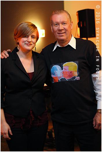 Melissa Gardiner & Larry Luttinger at the Sitrus Lounge (Sheraton Hotel)