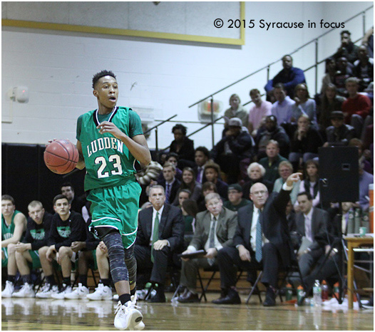 Bishop Ludden's Mika Adams-Woods