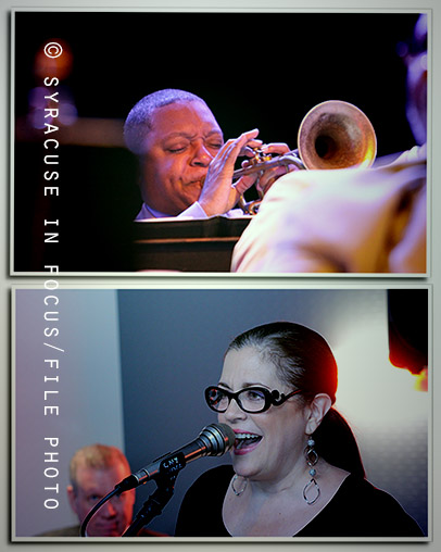 Vocalist and Utica-native Laurie Dapice appeared in Syracuse in April, then shared the stage with Wynton_Marsalis in August. Her debut album was chosen as one of the Best Jazz CDS of 2016 by Downbeat Magazine.
