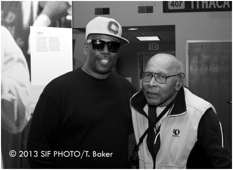 Grandmaster Caz (left) is one of the interviewees, as well as Duke's Dr. Mark Anthony Neal, to talk about the genesis of Hip Hop.