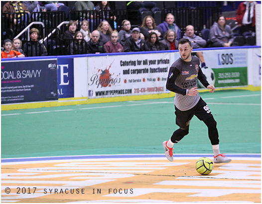 Slavisa Ubiparipovic became the first Silver Knight player to earn MASL player of the week honors.