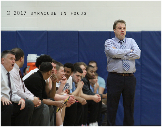 Former Henninger coach Erik Saroney has put together a great inaugural season on the other Hill.