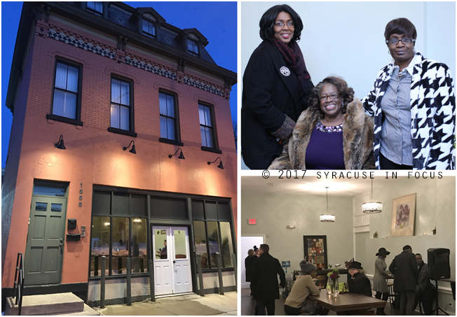 The Sumner Hunt Building is an example of Second Empire Style architecture. Southside TNT and Syracuse Model Neighborhood Facility, Inc. held an open house at the newly rehabbed space on Friday.