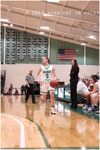 Bishop Ludden junior Danielle Rauch had a monster stat line of 35 pts, 8 rebounds and 8 assists in a win earlier this week against Notre Dame.. Ludden will take on South Jefferson on Sunday.