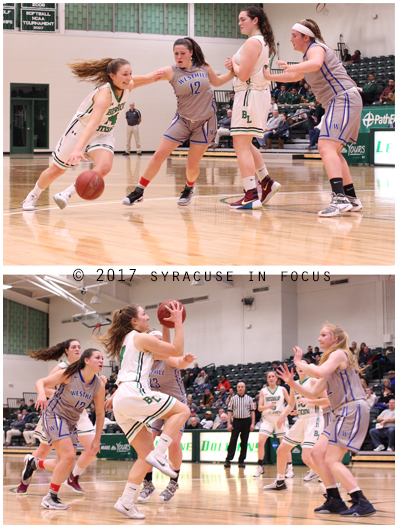 Bishop Ludden junior Laura Patulski was named to the Class B All Tournament Team for the Section III finals.