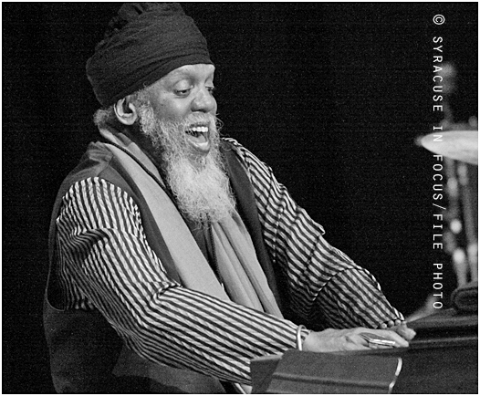 Dr. Lonnie Smith played the OCC Legends of Jazz Series in 2011.