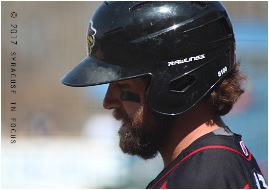 Rochester Red Wings first baseman Ben Paulsen is a slugger. In a three game series this weekend his numbers were as follows: 4 of 9 with 8 RBIs and 3 home runs.