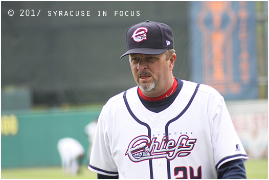 Manager Billy Gardner, Jr. will lead his club against the Charlotte Knights for a double-header tomorrow,