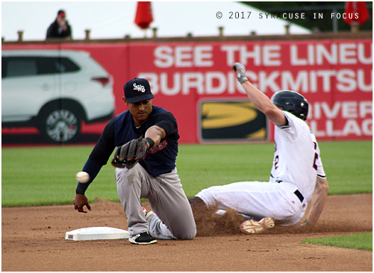 ...then he stole second base