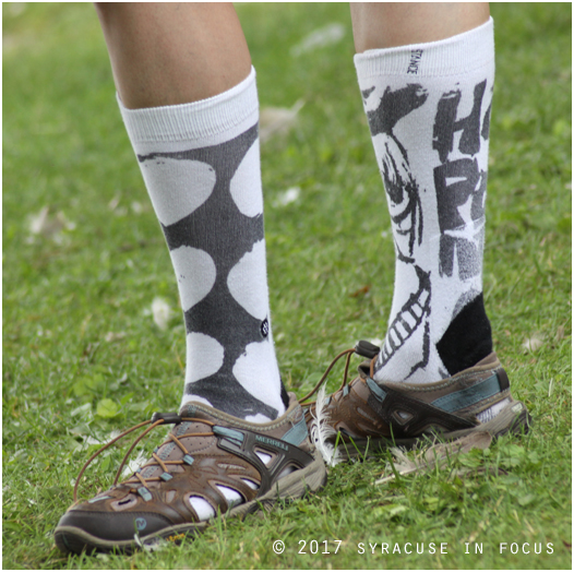 Hip Socks go shin deep