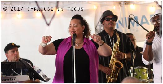 Solazzo, Tamar, Kininger, Brown and Lorick of Brownskin (World Beat Pavilion, Northeast Jazz & Wine Festival)