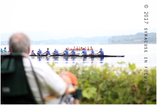The Onondaga Cup is all about corporate rowing.