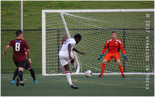 For Syracuse FC it was the final home game of the year; for Ft. Pitt it was the final road game of the year. In the end Ft. Pitt outlasted Syracuse 2-0. The two teams play again next Saturday.