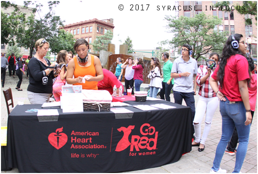 American Heart Association of CNY Go Red Silent Disco Registration