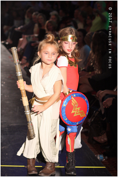 Indie Kids of Syracuse (Princess Leia and Wonderwoman)