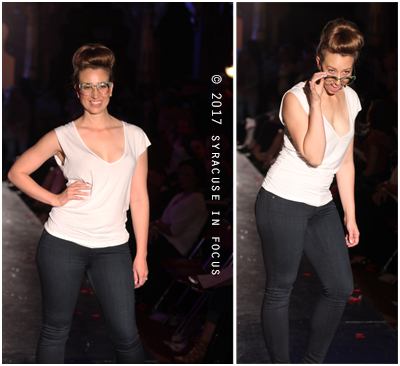 All Eyes on You (NY Optometric takes a turn on the Syracuse Style runway last night).