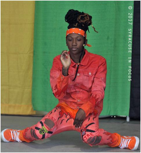 Dancer, Pan-African Village