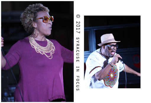 Kindred Family Soul was the headline act for the inaugural Sankofa Festival.